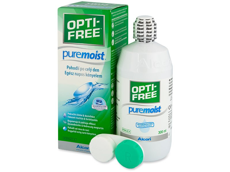 Roztok OPTI-FREE PureMoist 300 ml