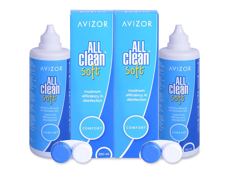 Roztok Avizor All Clean Soft 2x350 ml