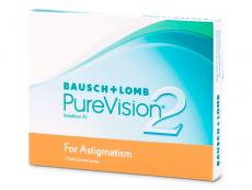 PureVision 2 for Astigmatism (3 čočky)