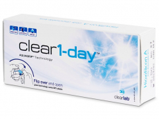 Clear 1-Day (30 čoček)
