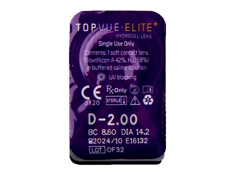TopVue Elite+ (10 čoček)