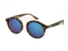 Dětské sluneční brýle Alensa Panto Havana modré