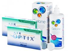 Air Optix for Astigmatism (2x3 čočky) +roztokGelone360ml