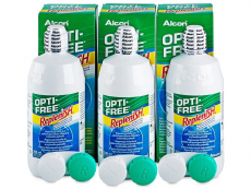 Roztok OPTI-FREE RepleniSH 3 x 300 ml