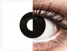 ColourVUE Crazy Lens - BlackOut - nedioptrické (2 čočky)