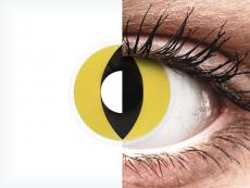 ColourVUE Crazy Lens - Cat Eye - nedioptrické (2 čočky)