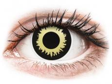 ColourVUE Crazy Lens - Eclipse - nedioptrické (2 čočky)
