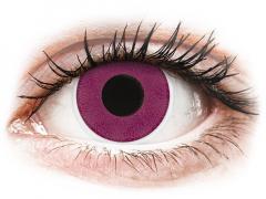ColourVUE Crazy Lens - Purple - nedioptrické (2 čočky)