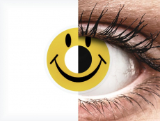 ColourVUE Crazy Lens - Smiley - nedioptrické (2 čočky)