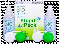Roztok Biotrue 2 x 60 ml Flight Pack