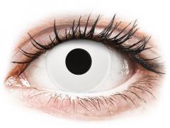 ColourVUE Crazy Lens - WhiteOut - nedioptrické (2 čočky)