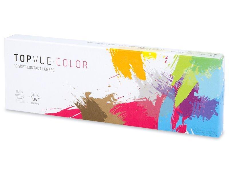 TopVue Color - Blue - dioptrické jednodenní (10čoček)