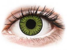 TopVue Color - Fresh green - dioptrické jednodenní (10čoček)