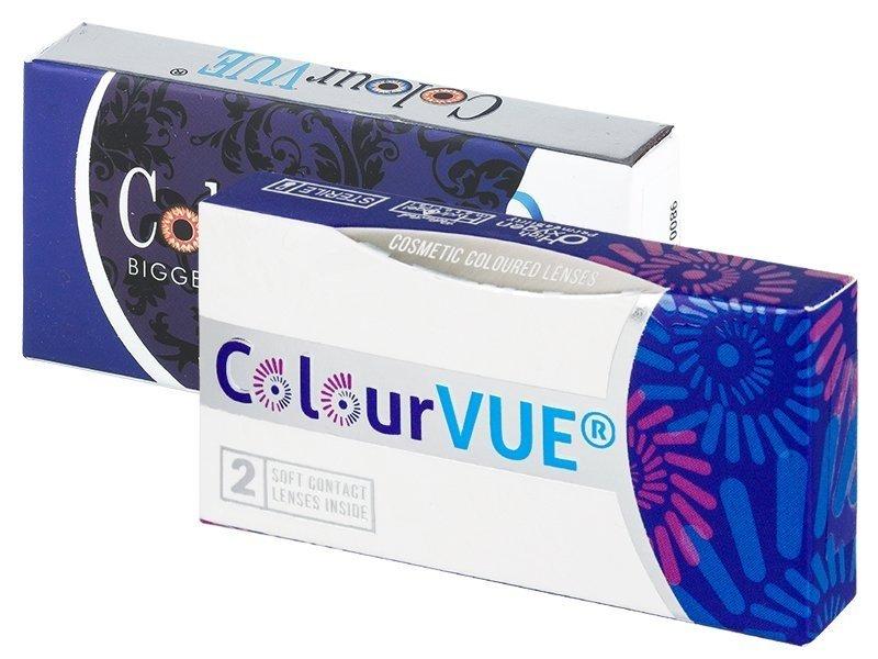 ColourVUE BigEyes Dolly Black - dioptrické (2 čočky)