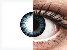 ColourVUE BigEyes Cool Blue - nedioptrické (2 čočky)