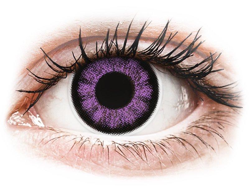ColourVUE BigEyes Ultra Violet - nedioptrické (2 čočky)