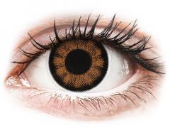 ColourVUE BigEyes Sexy Brown - nedioptrické (2 čočky)