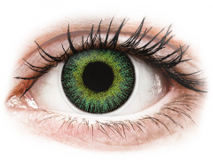 ColourVUE Fusion Green Yellow - dioptrické (2 čočky)
