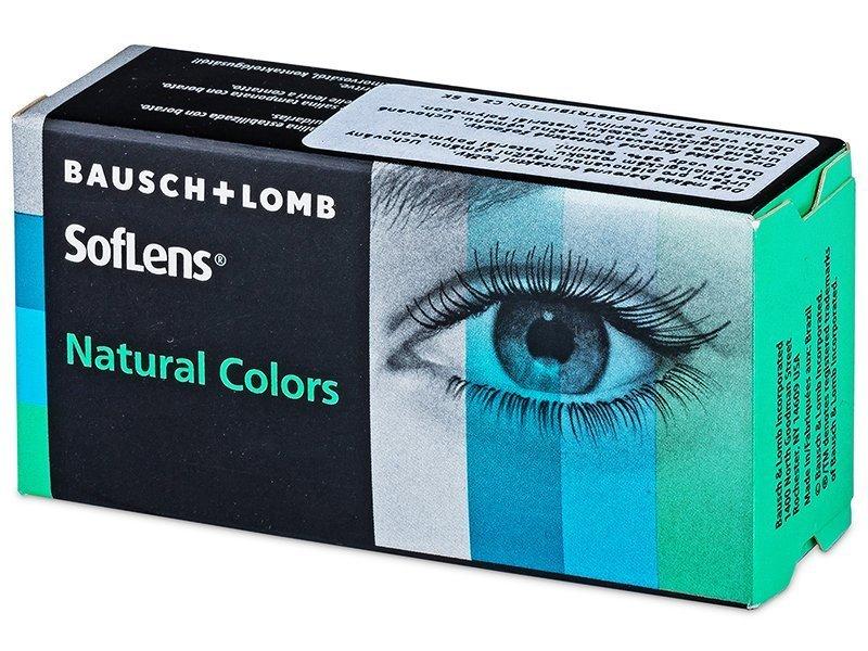 SofLens Natural Colors India - nedioptrické (2čočky)