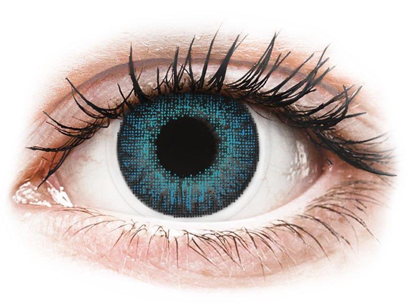 Air Optix Colors - Brilliant Blue - nedioptrické (2 čočky)