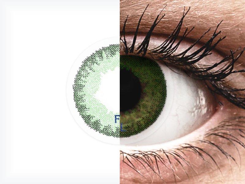 FreshLook Dimensions Sea Green - dioptrické (6čoček)
