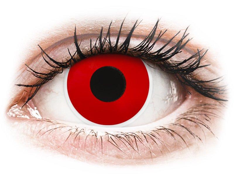 ColourVUE Crazy Lens - Red Devil - nedioptrické jednodenní (2čočky)