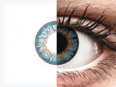 ColourVue One Day TruBlends Blue - dioptrické (10čoček)