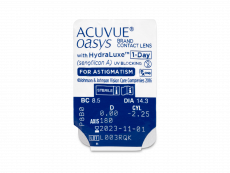 Acuvue Oasys 1-Day with HydraLuxe for Astigmatism (30 čoček)