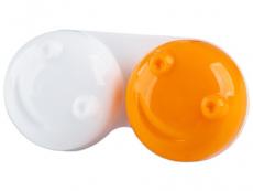 Pouzdro na čočky 3D - oranžové