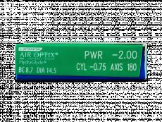 Air Optix plus HydraGlyde for Astigmatism (3 čočky)