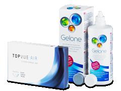 TopVue Air (6čoček) + roztok Gelone360ml
