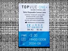 TopVue One+ (90 čoček)