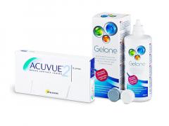 Acuvue 2 (6 čoček) + roztok Gelone 360 ml