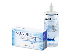 Acuvue Oasys for Astigmatism (12 čoček) + roztok Laim-Care 400 ml