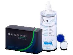 TopVue Premium for Astigmatism (6 čoček) + roztok Laim Care 400 ml