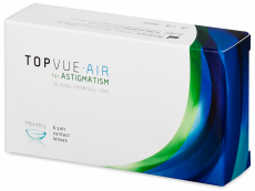 TopVue Air for Astigmatism (6 čoček)