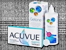 Acuvue Oasys with Transitions (6 čoček) + roztok Gelone 360 ml