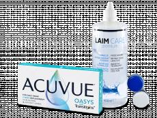 Acuvue Oasys with Transitions (6 čoček) + roztok Laim-Care 400 ml