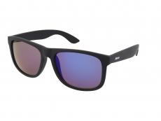 Sluneční brýle Alensa Sport All Black Blue Mirror