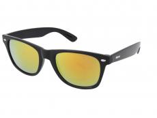 Sluneční brýle Alensa Sport Black Orange Mirror