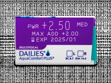 Dailies AquaComfort Plus Multifocal (90čoček)