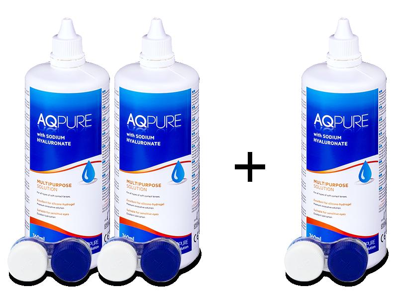 Roztok AQ Pure 360 ml: 2+1 ZDARMA