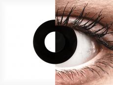 CRAZY LENS - Black Out - dioptrické jednodenní (2 čočky)