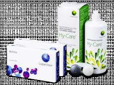 Biofinity (2x 6 čoček) + roztok Hy-Care 360 ml ZDARMA