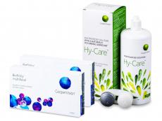 Biofinity Multifocal (2x 6 čoček) + roztok Hy-Care 360 ml ZDARMA