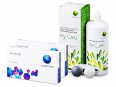 Biofinity XR (2x 3 čočky) + roztok Hy-Care 360 ml ZDARMA