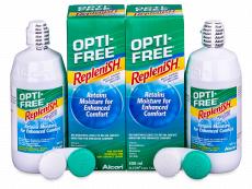 Roztok OPTI-FREE RepleniSH 2x300ml