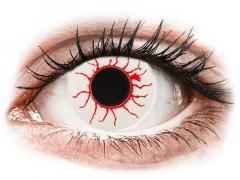 CRAZY LENS - Red Viper - nedioptrické jednodenní (2 čočky)