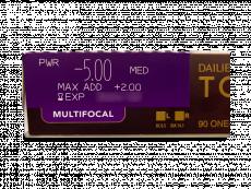 Dailies TOTAL1 Multifocal (90 čoček)