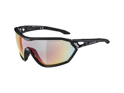 Alpina S-Way QVM+ Black Matt/Quattro Varioflex Rainbow Mirror